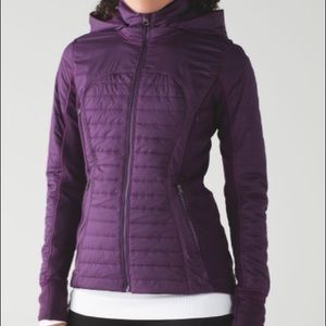 Lululemon First Mile Jacket Darkest Magenta